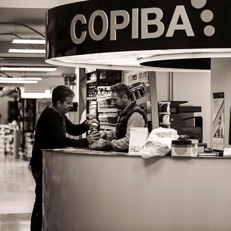 Copiba, especialistas en pinturas industriales y decoración en Barcelona